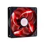 ventilátor Coolermaster SickleFlow 120x120, long life sleave, 19dBA, red LED