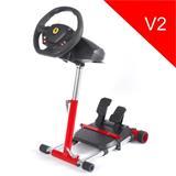 Wheel Stand Pro, stojan na volant a pedály pre Thrustmaster SPIDER, T80/T100,T150,F458/F430, červený