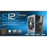Zdroj 520W, SEASONIC S12II-520 (SS-520GB F3) 80PLUS Bronze, Retail